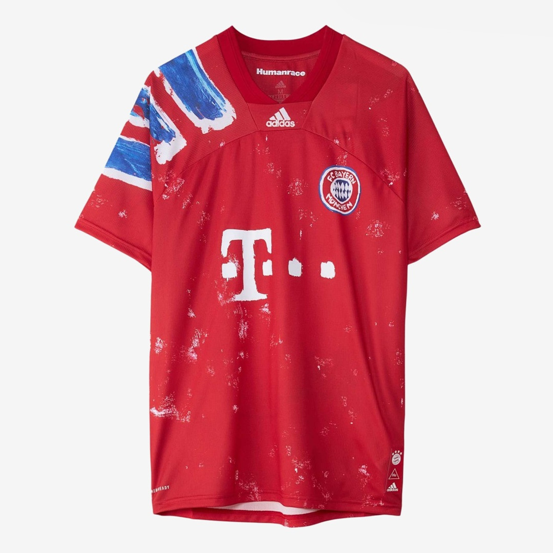Pharrell Williams Human Race Bayern Monaco jersey