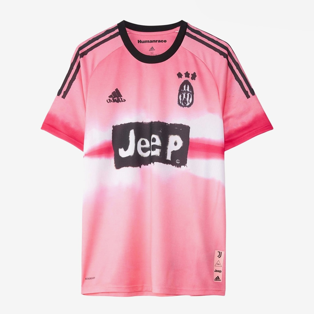 Pharrell Williams Human Race Juventus jersey