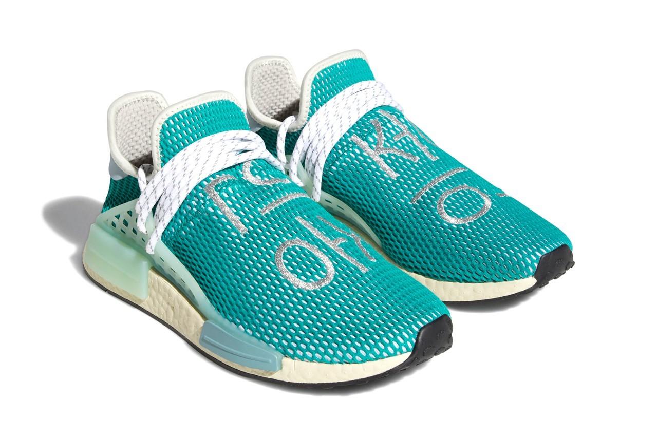 "Pharrell Williams x adidas Hu NMD ""Dash Green"""