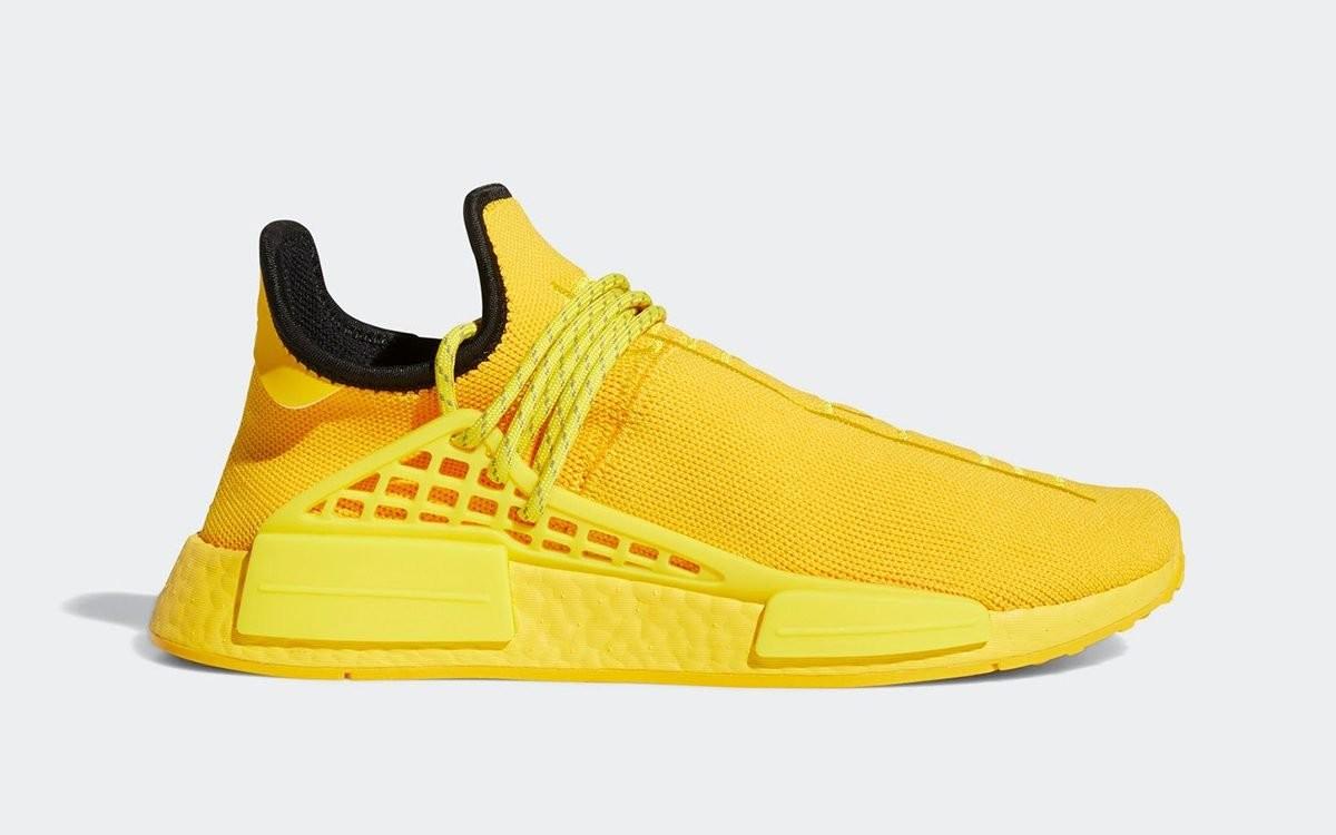 "Pharrell Williams x adidas NMD HU ""Yellow"""