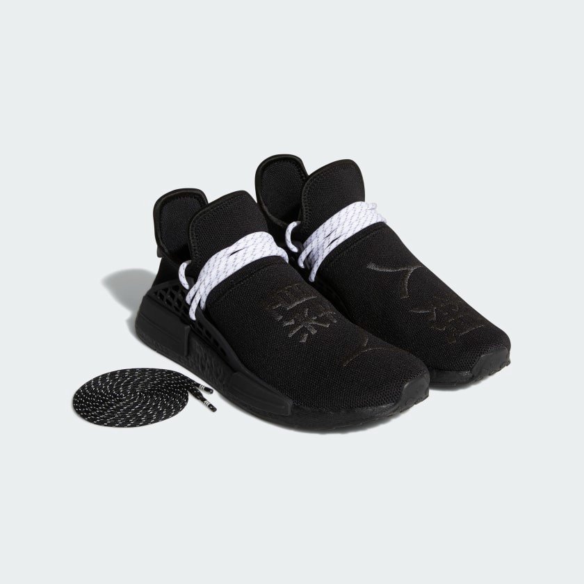 "Pharrell Williams x adidas NMD Hu ""Core Black"""