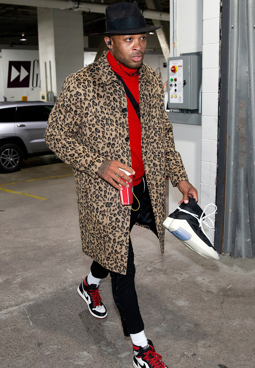 Pj Tucker outfit Air Jordan 1