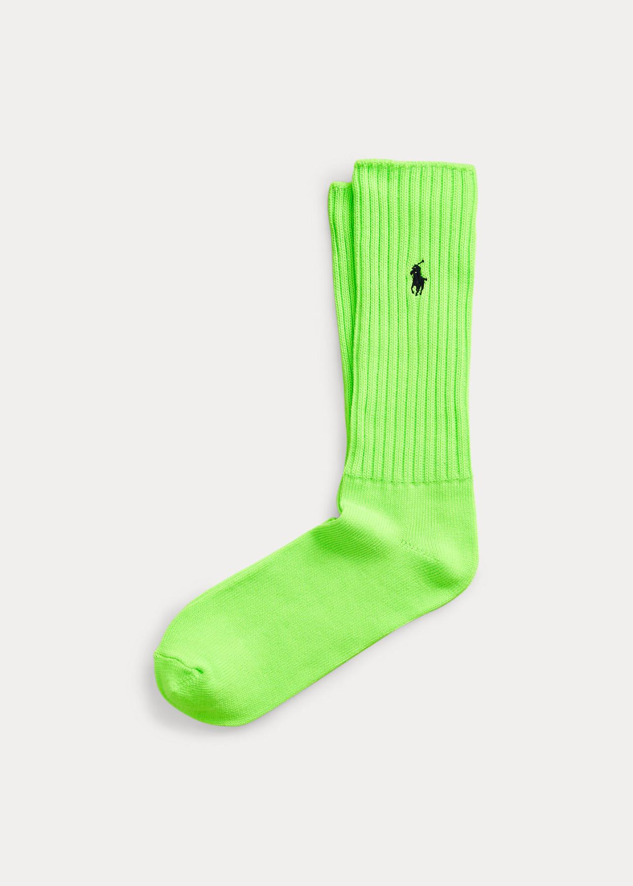 Ralph Lauren calzini verde fluo