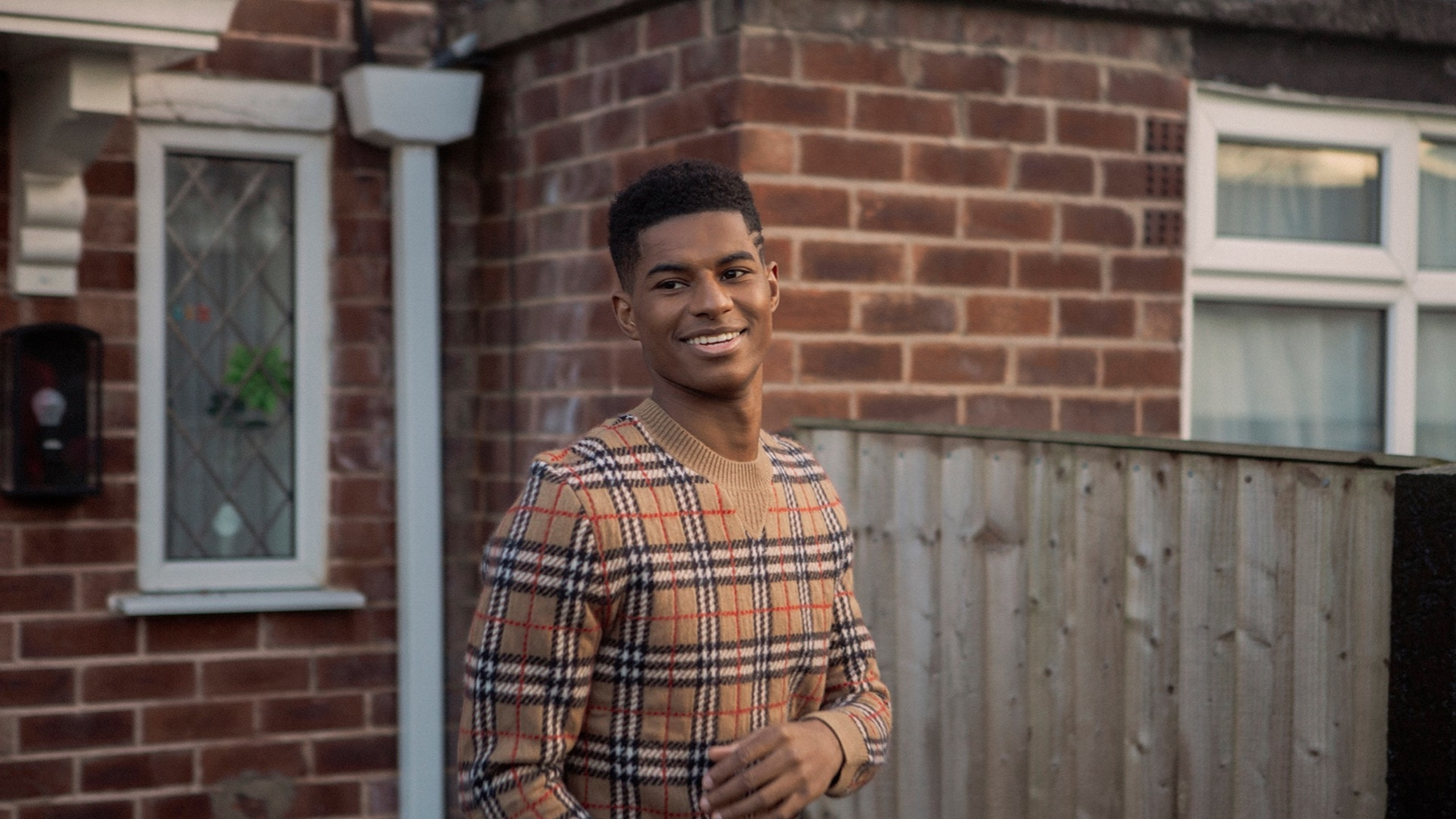 Rashford Burberry
