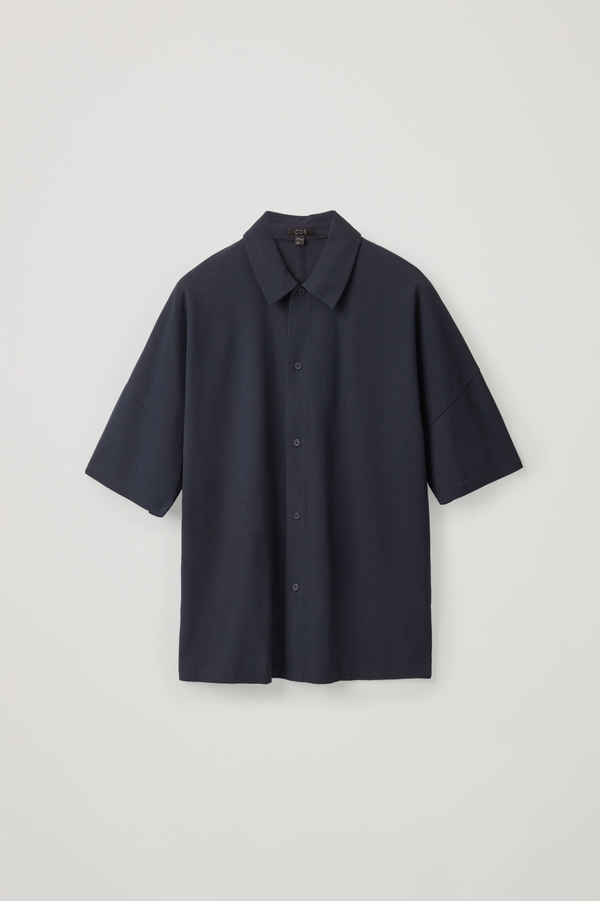 Relaxed Short-Sleeved Shirt - COS