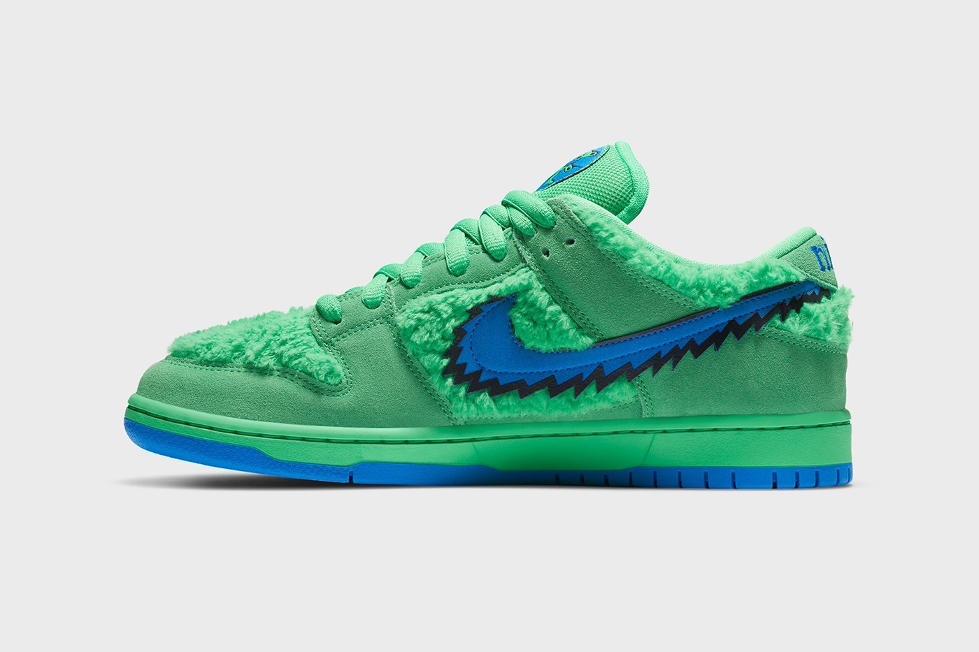 Release 24 Luglio Versione Verde Nike SB Dunk Low Grateful Dead