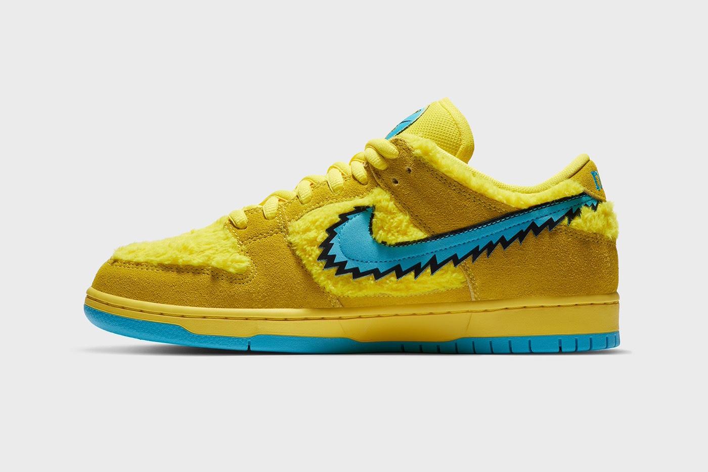 Release 24 Luglio Versione Gialla Nike SB Dunk Low Grateful Dead