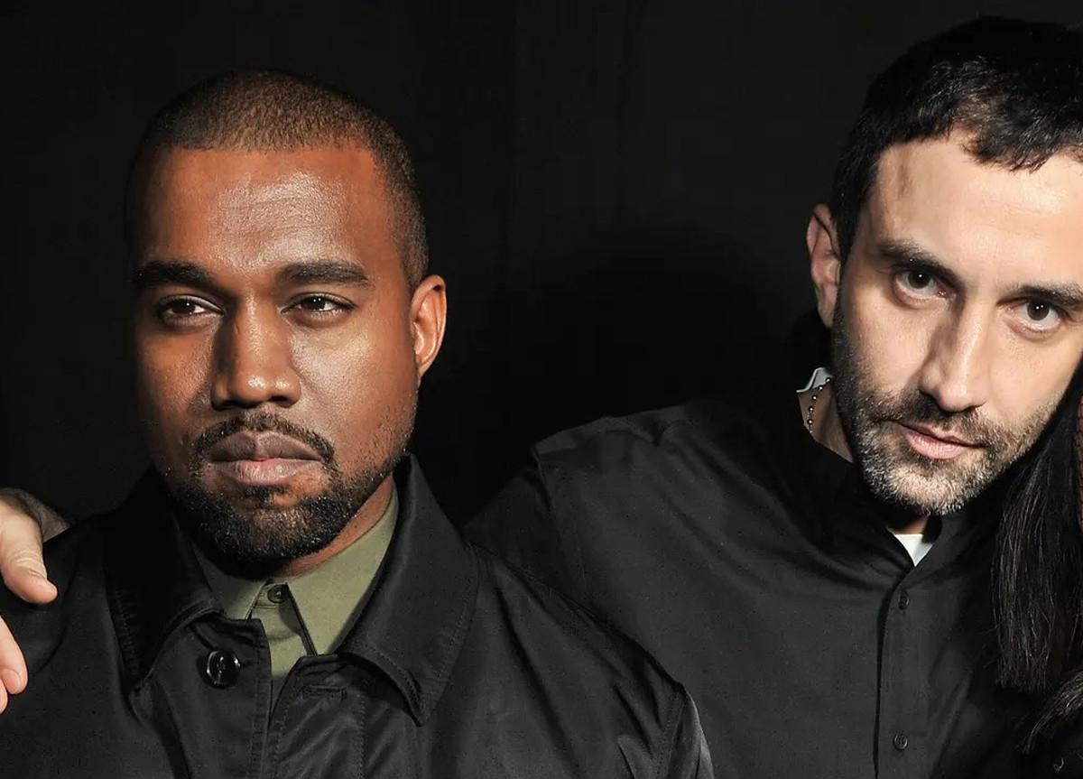 Riccardo Tisci Kanye West