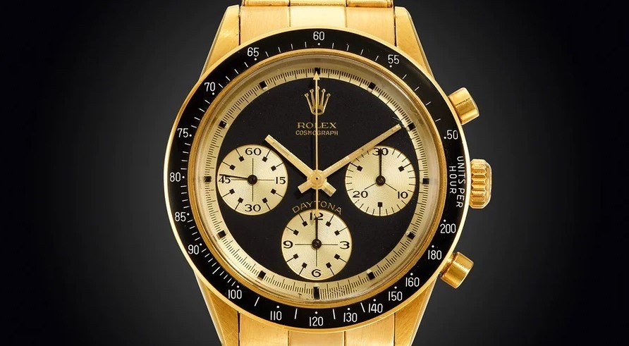 "Rolex Daytona ""John Player Special"" in oro 18 carati"
