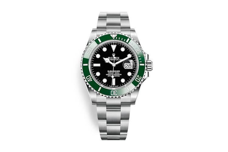 Rolex Submariner 2020 ghiera verde