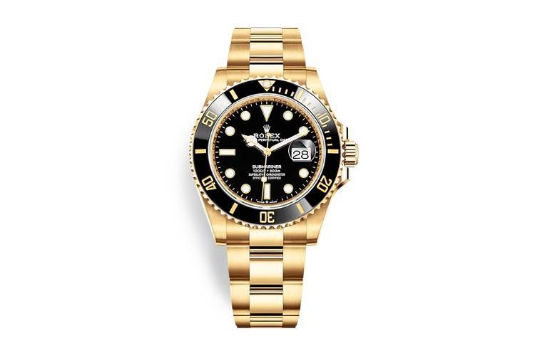 Rolex Submariner 2020 oro e nero