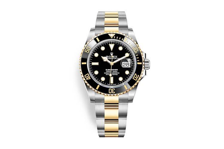 Rolex Submariner 2020 oro acciaio nero