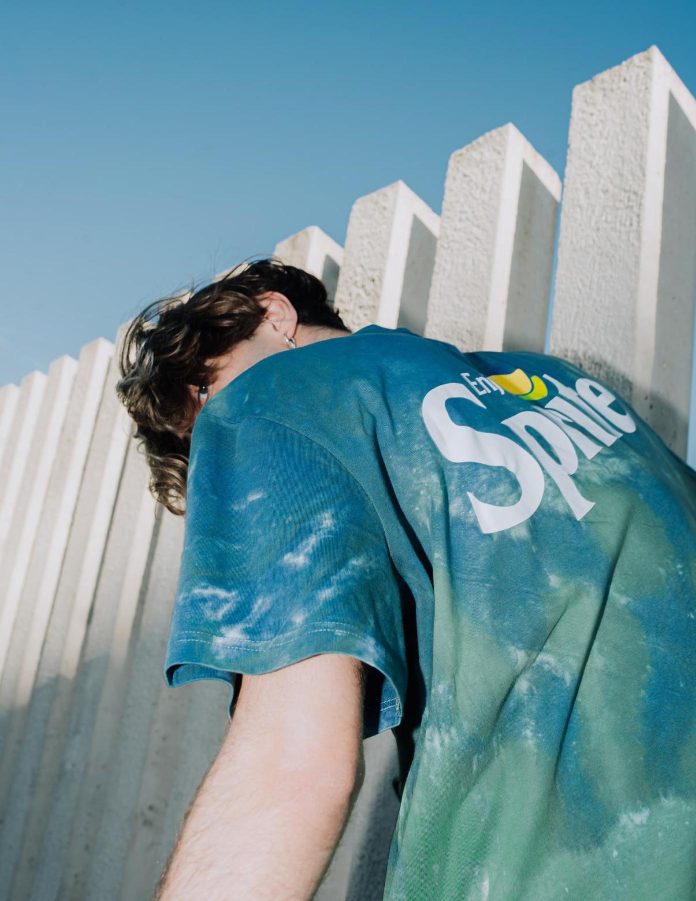 SNIPES x SPRITE tie-dye t-shirt