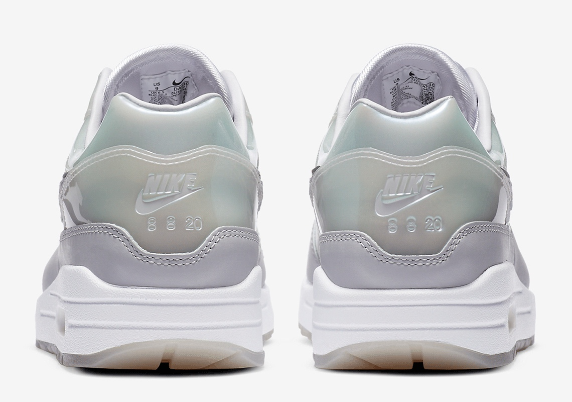 SNKRS 2020 Nike Air Max 1 Bianche