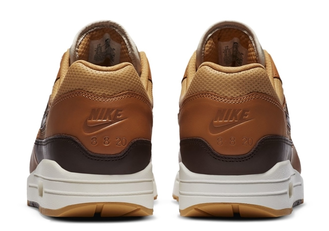 SNKRS 2020 Nike Air Max 1 Marrone