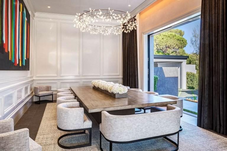 Salotto Casa Kylie Jenner