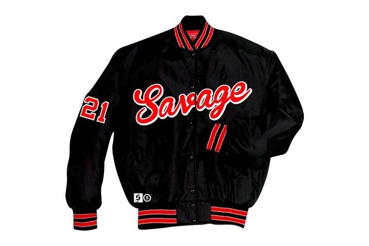 """""""Savage Mode 2"""" merchandising varsity jacket"""