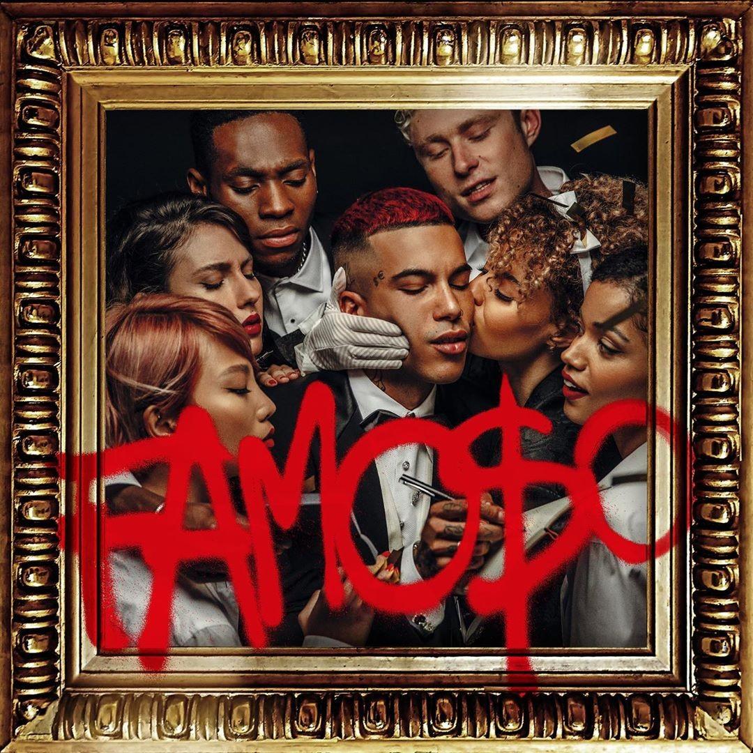 Sfera Ebbasta Famoso album cover