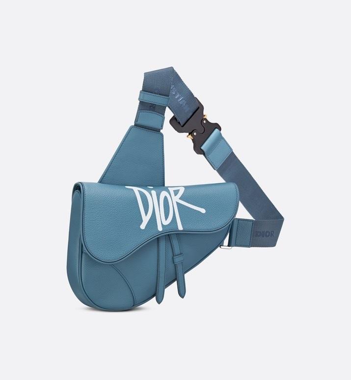 Shawn Stussy x DIOR Saddle Bag
