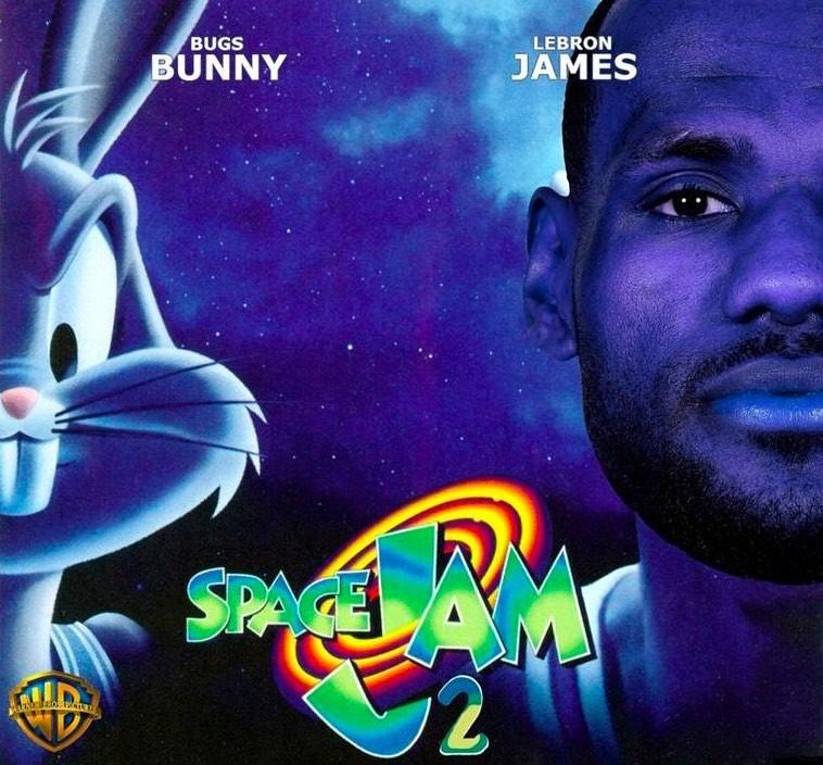 Space Jam 2 LeBron James Bugs Bunny