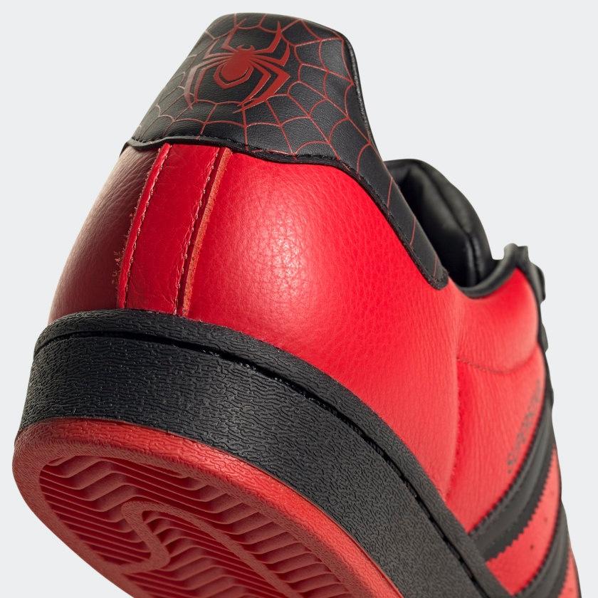 Spider-Man x PlayStation x adidas Superstar Miles Morales