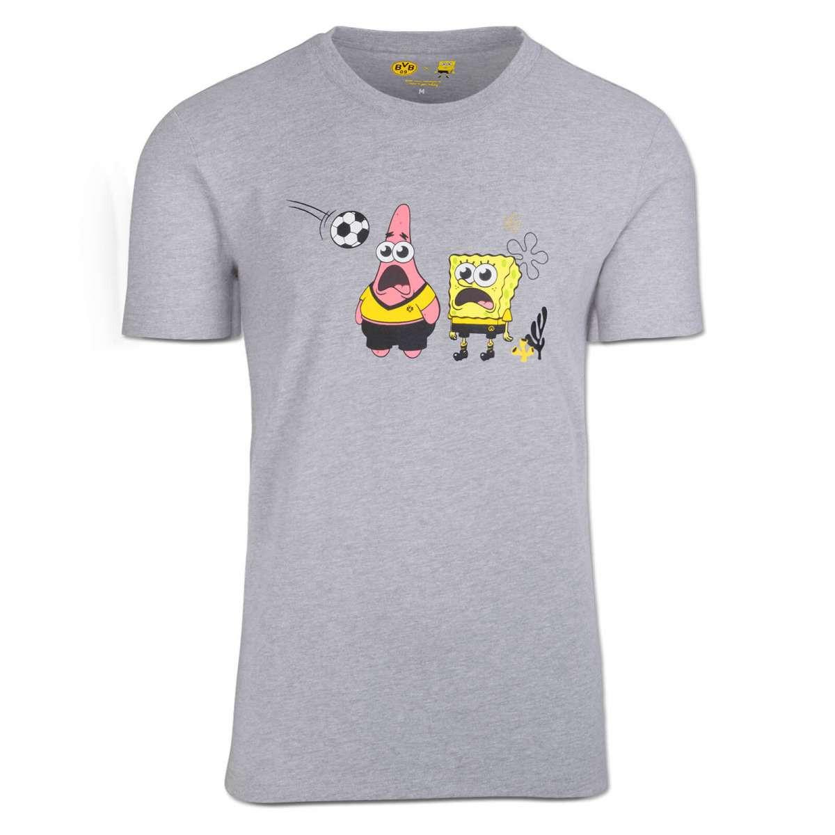SpongeBob x Borussia Dortmund T-shirt grey