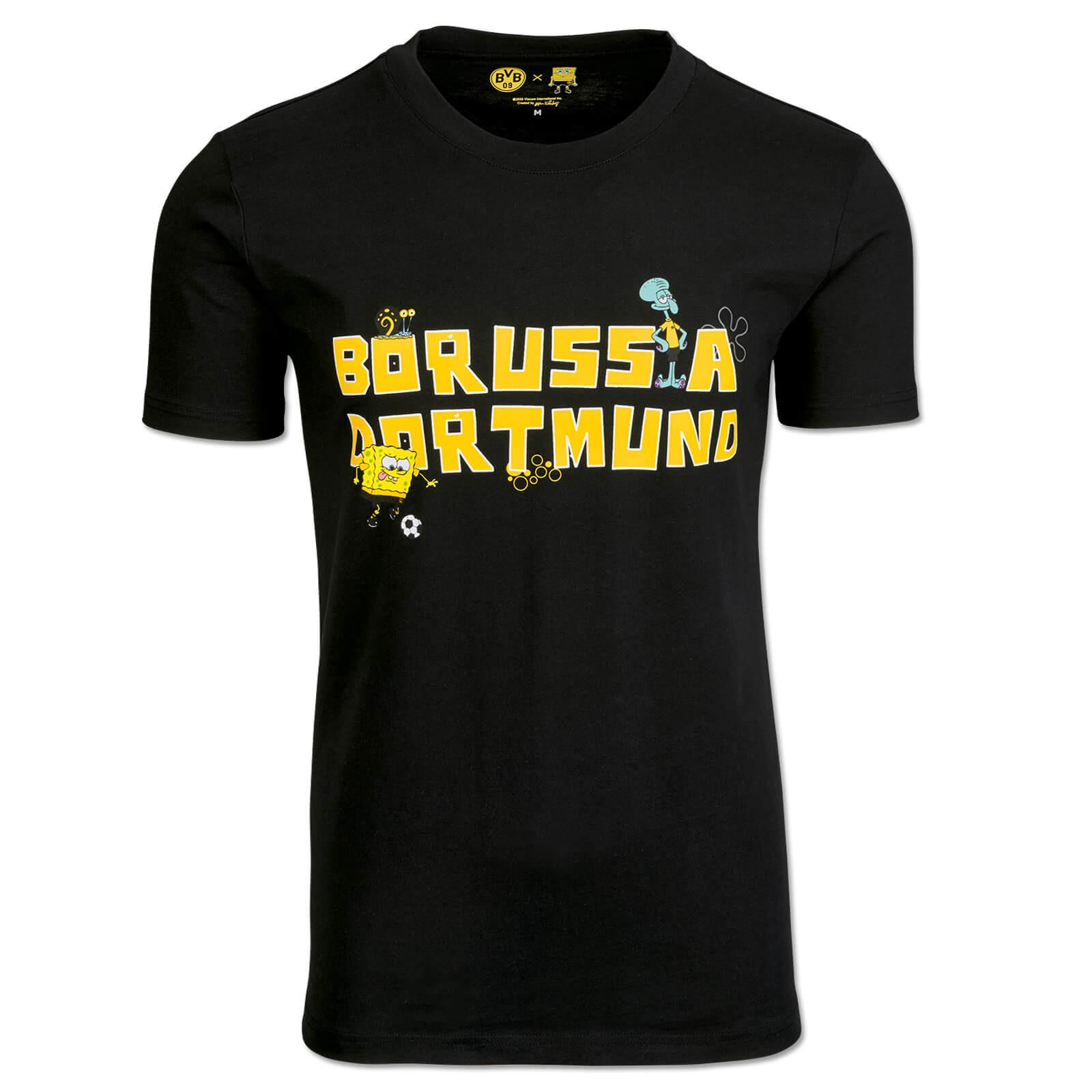 SpongeBob x Borussia Dortmund T-shirt black