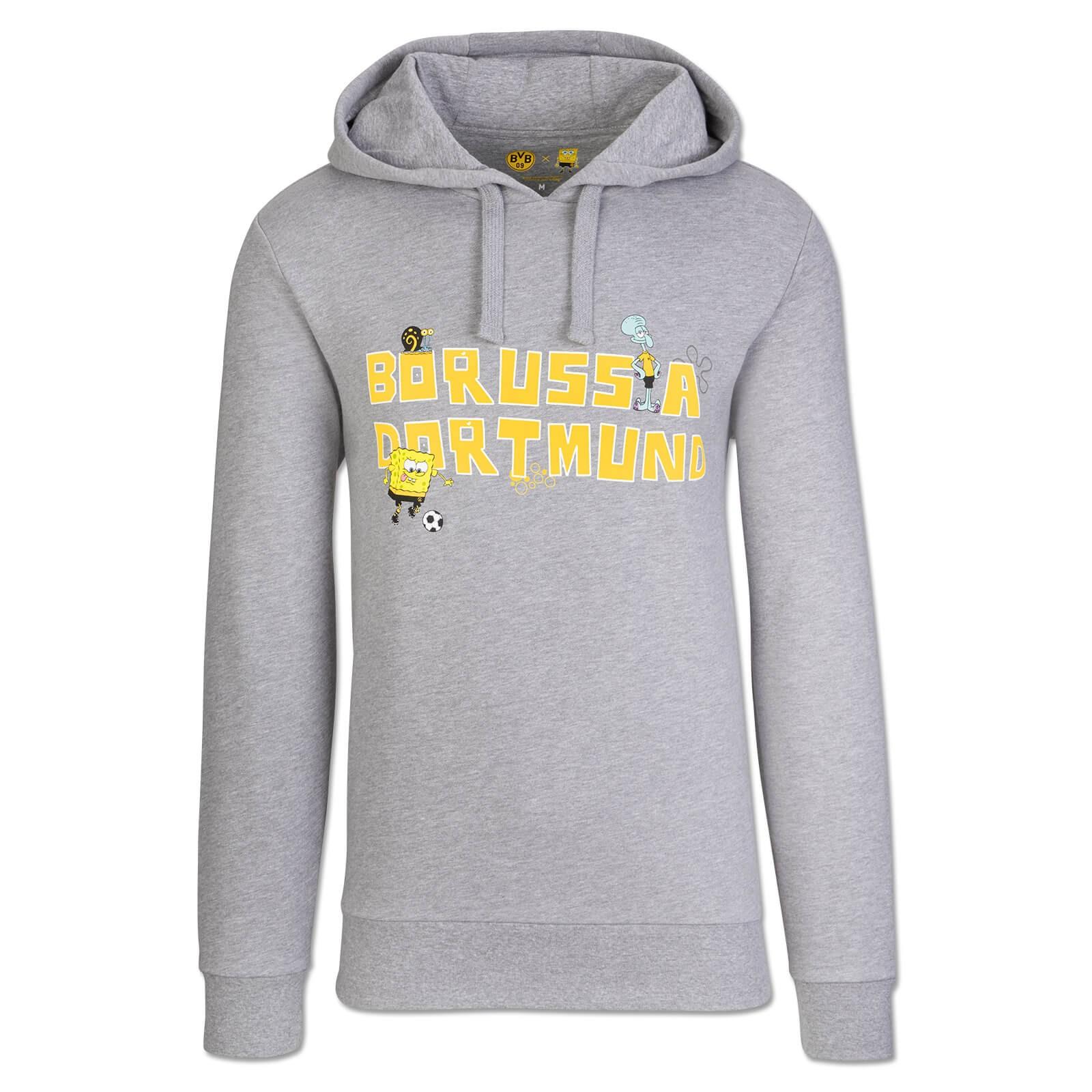 SpongeBob x Borussia Dortmund hoodie grey