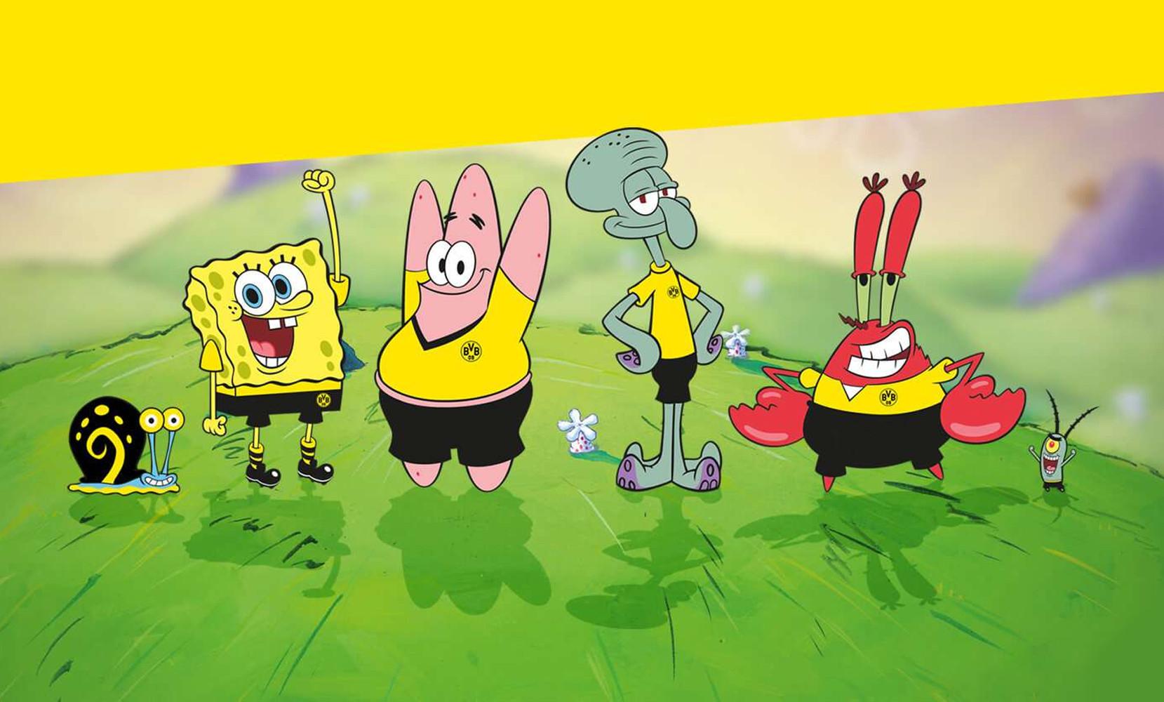 Spongebob Borussia Dortmund