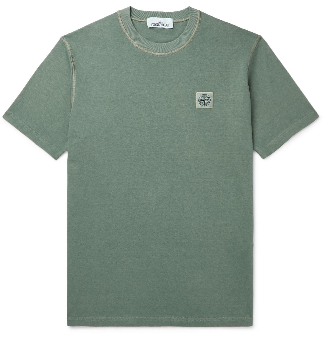 Stone Island t-shirt verde