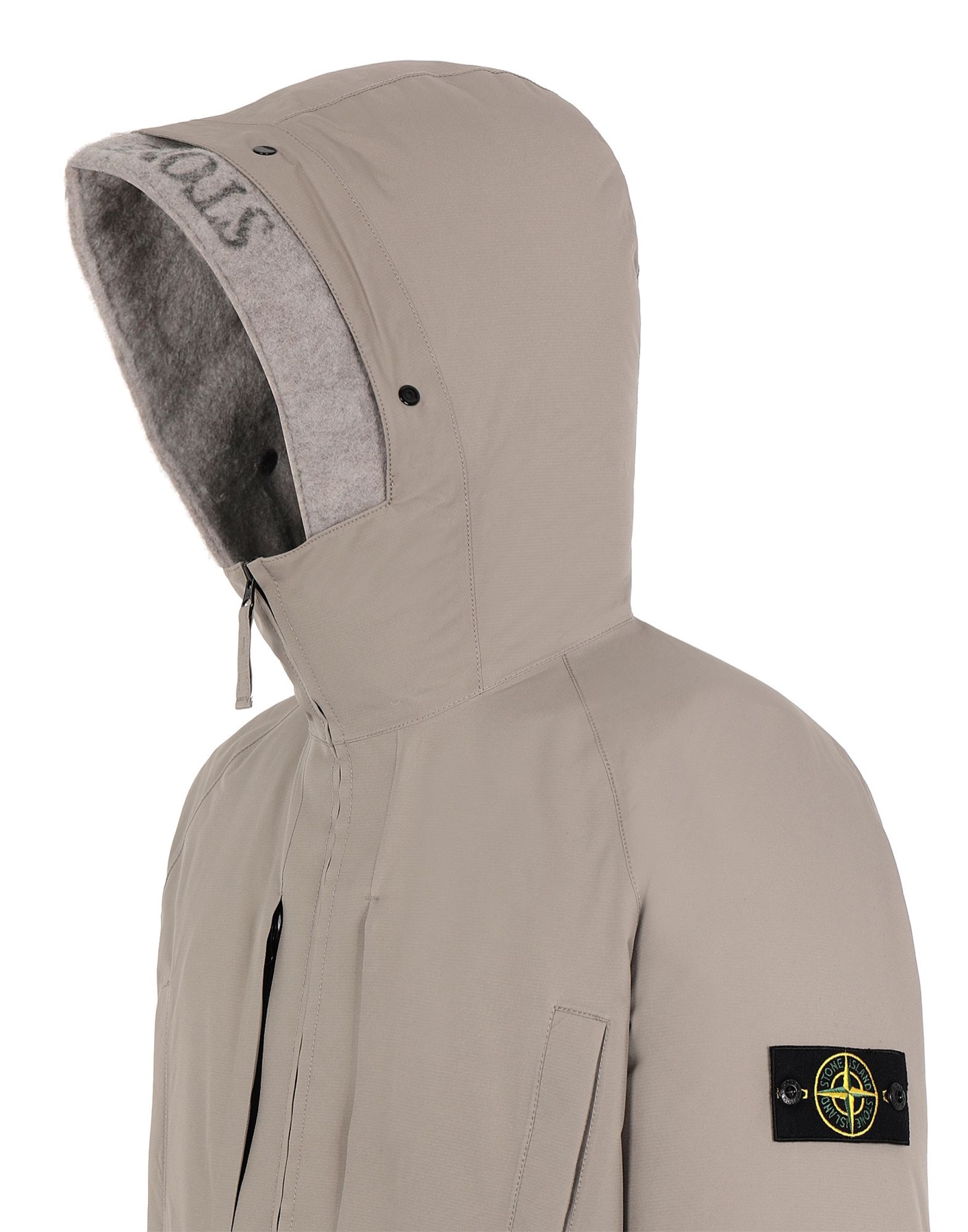 Stone Island GORE-TEX jacket taupe