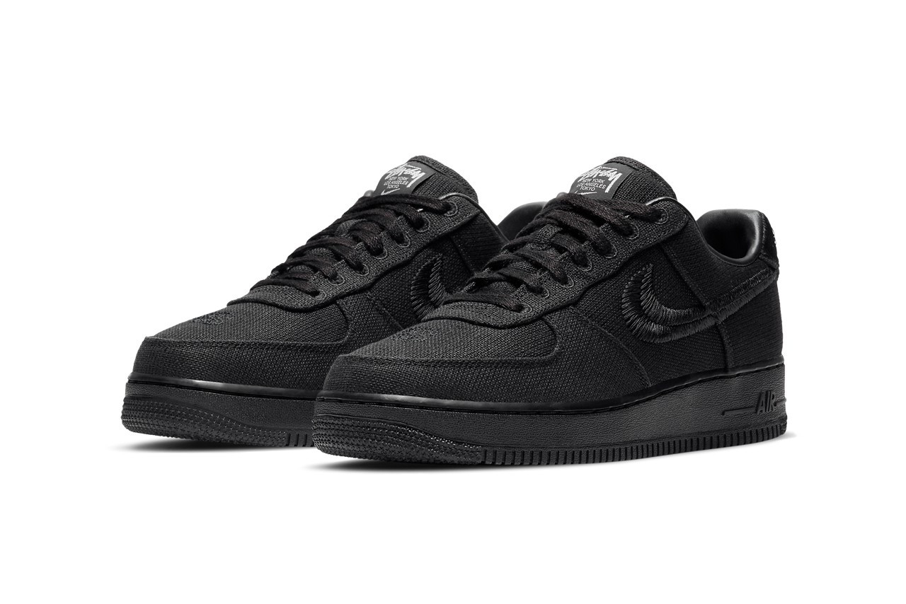 Stussy x Nike Air Force 1 Low Black