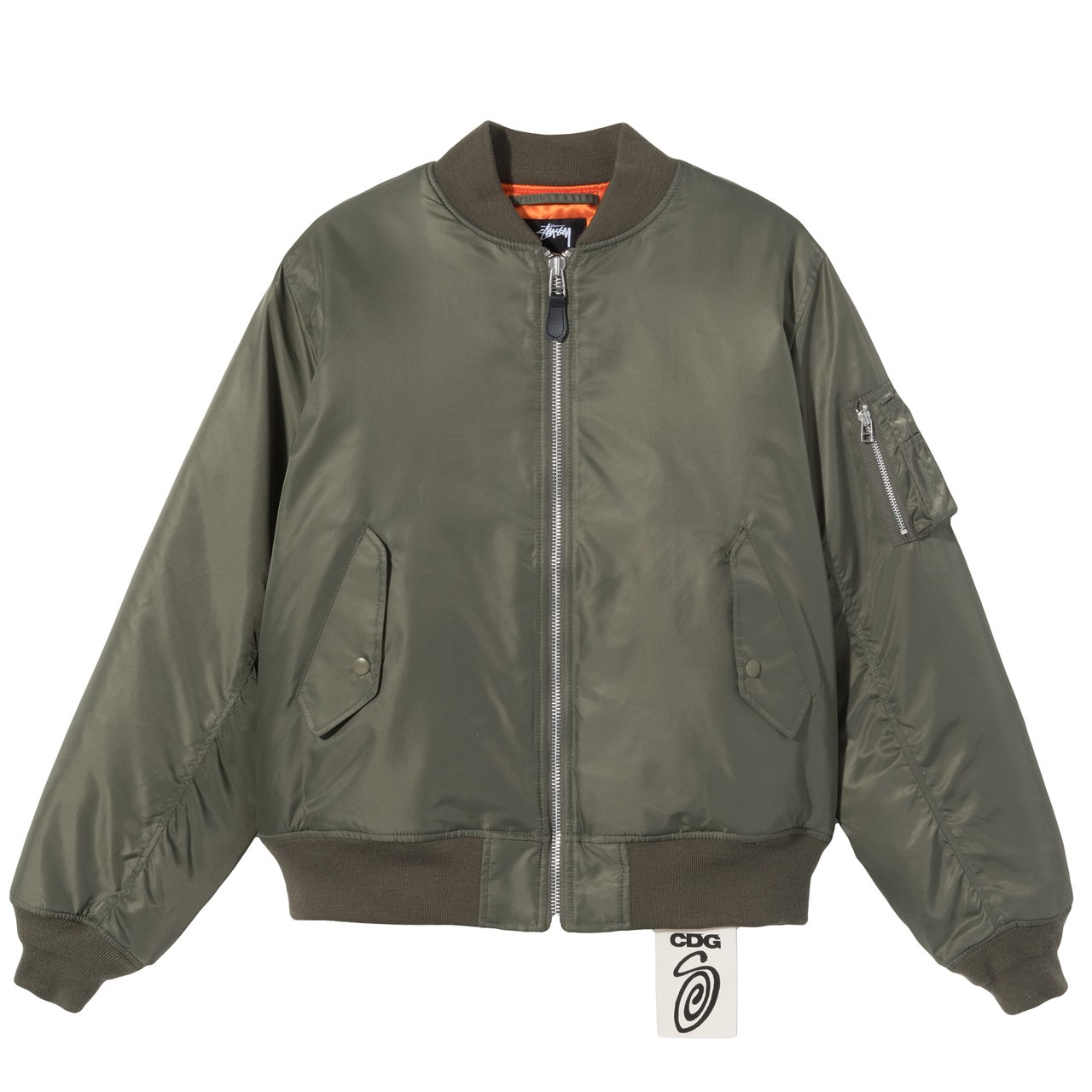 Stussy x CDG bomber jacket