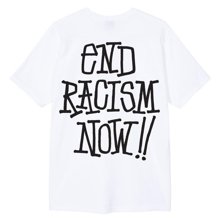 Stussy End Racism Tee