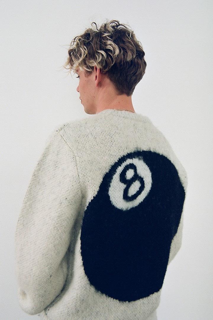 Stussy Fall 2020 8-ball sweater