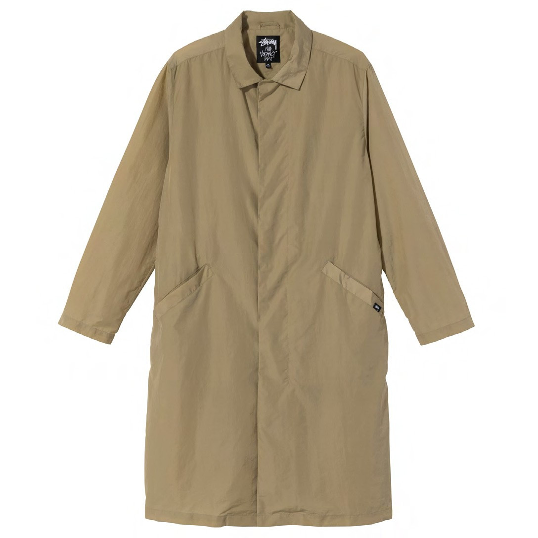 Stussy x No Vacancy Inn coat