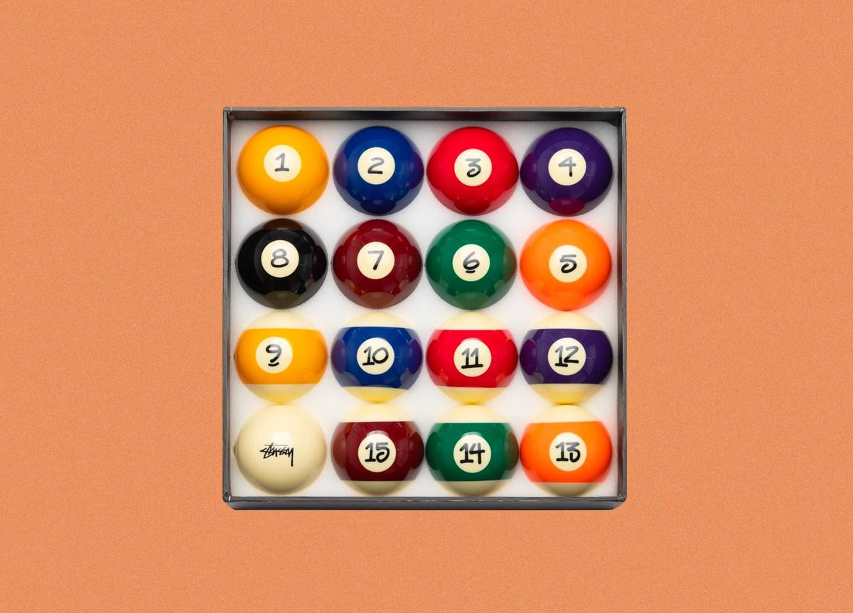 Stussy Set palle da Biliardo