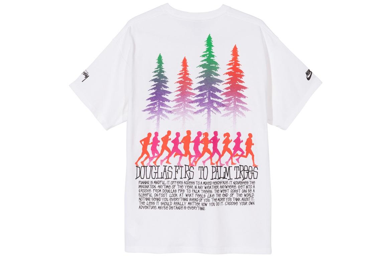Stussy x Nike T-Shirt Bianca