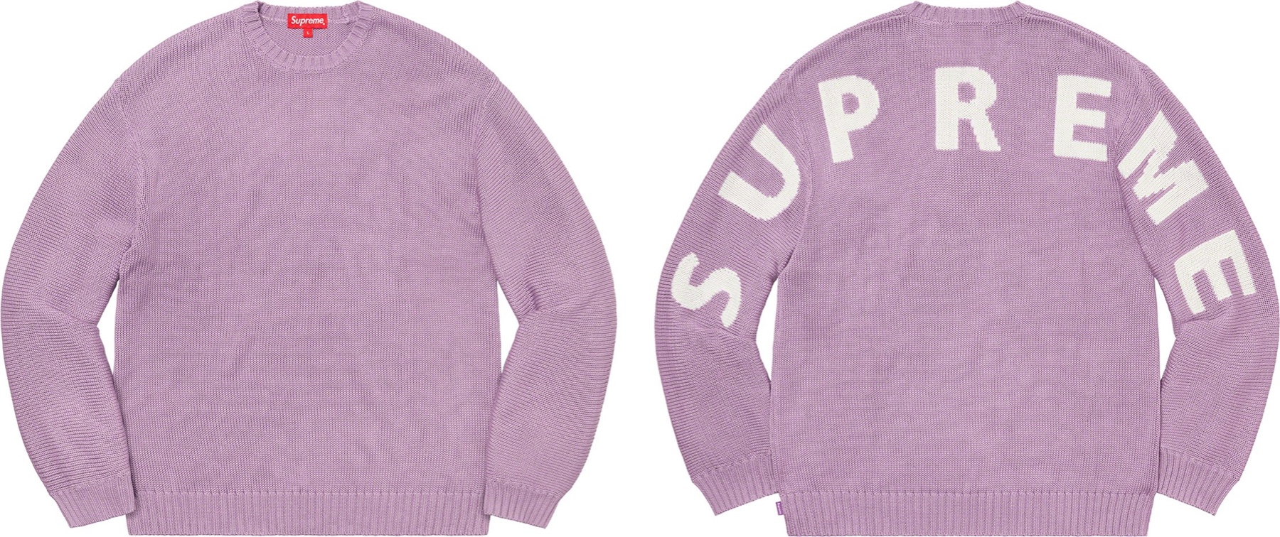Supreme Back Logo Sweater