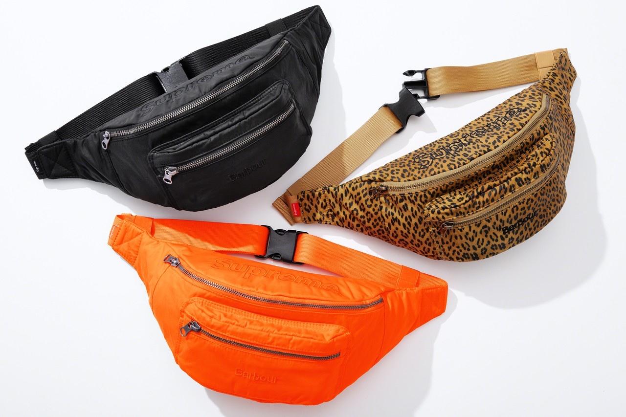 Supreme Barbour Waist Bag