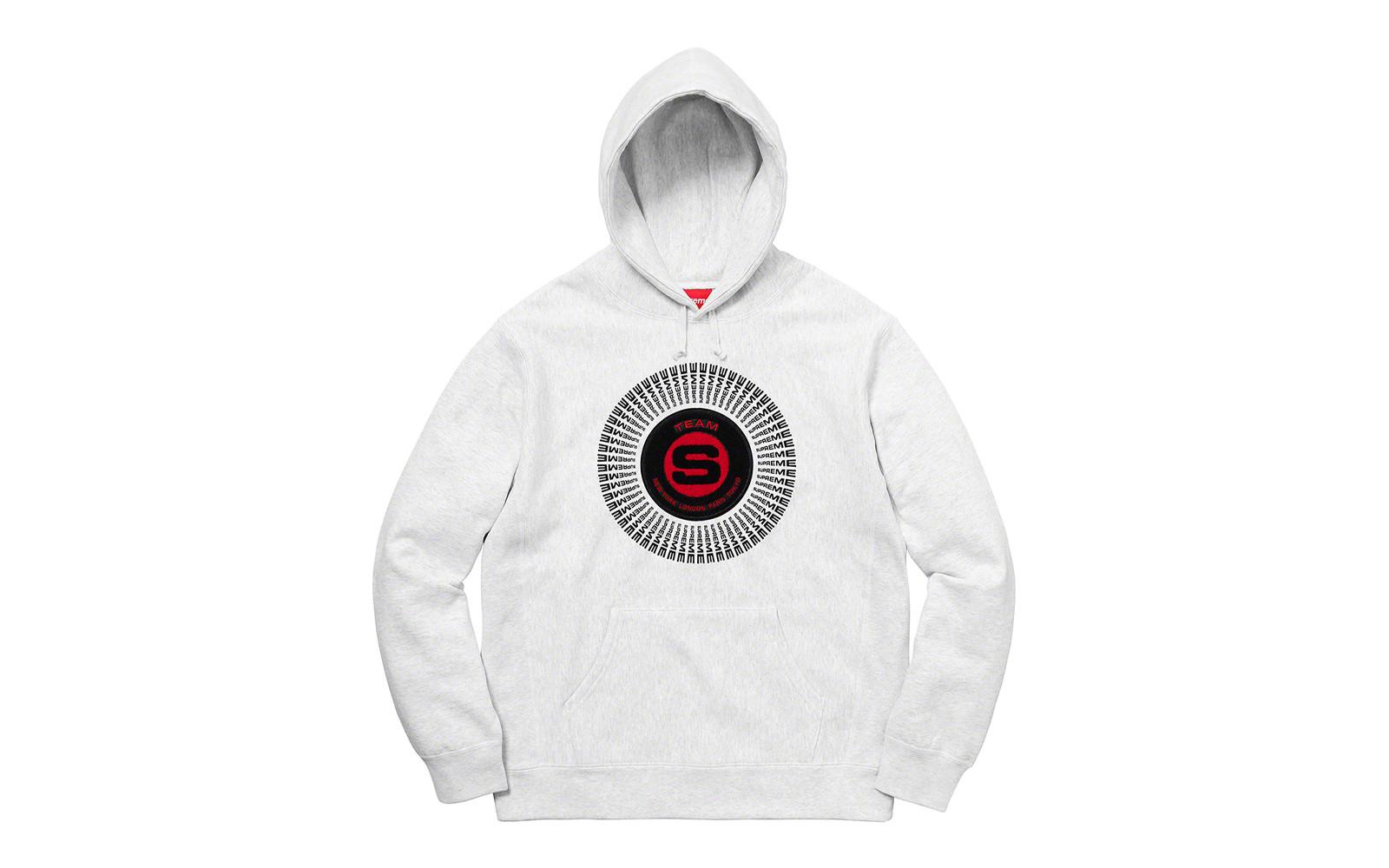Supreme Chenille Appliqué Hooded Sweatshirt