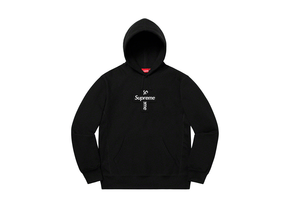 Supreme Cross Box Logo Black