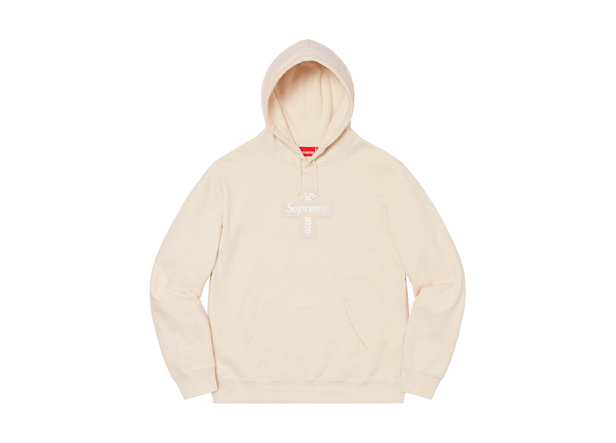 Supreme Cross Box Logo Natural