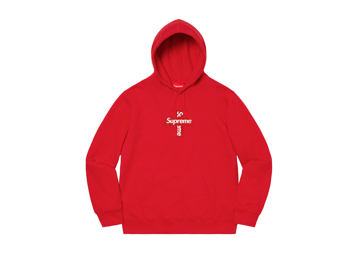 Supreme Cross Box Logo Red
