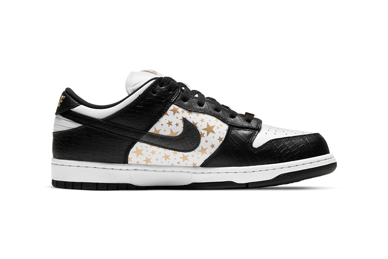 Supreme x Nike SB Dunk Low Black