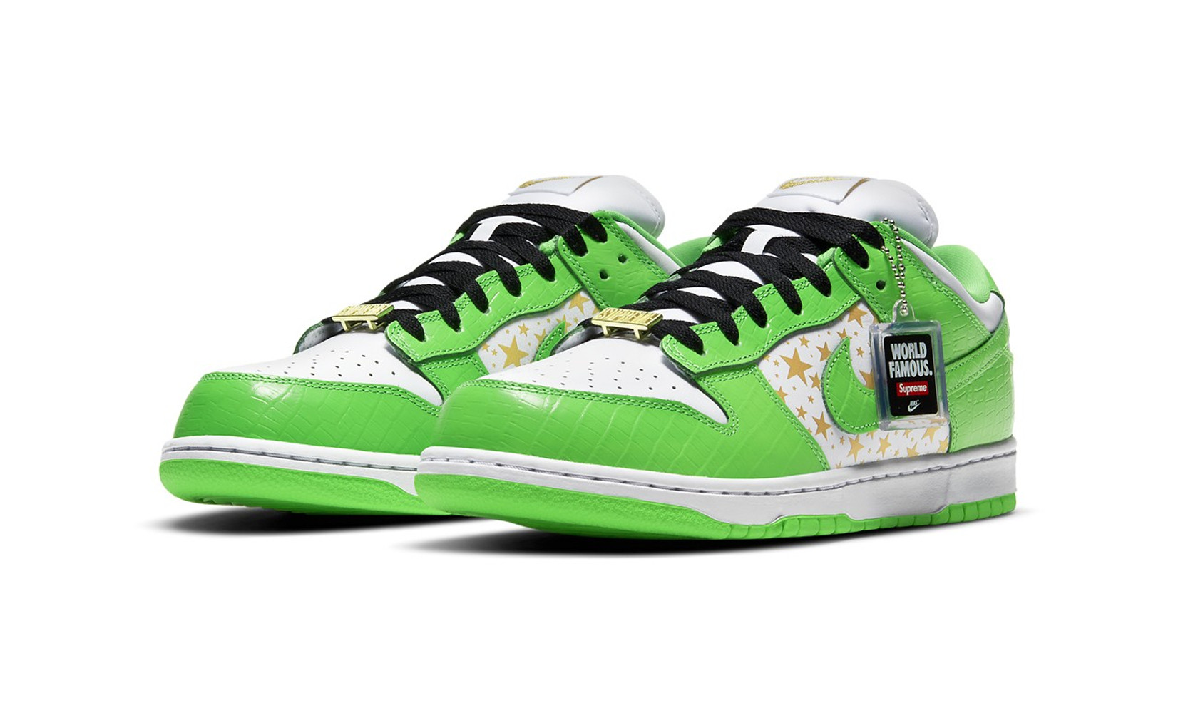Supreme Dunk SB Dunk Low Mean Green