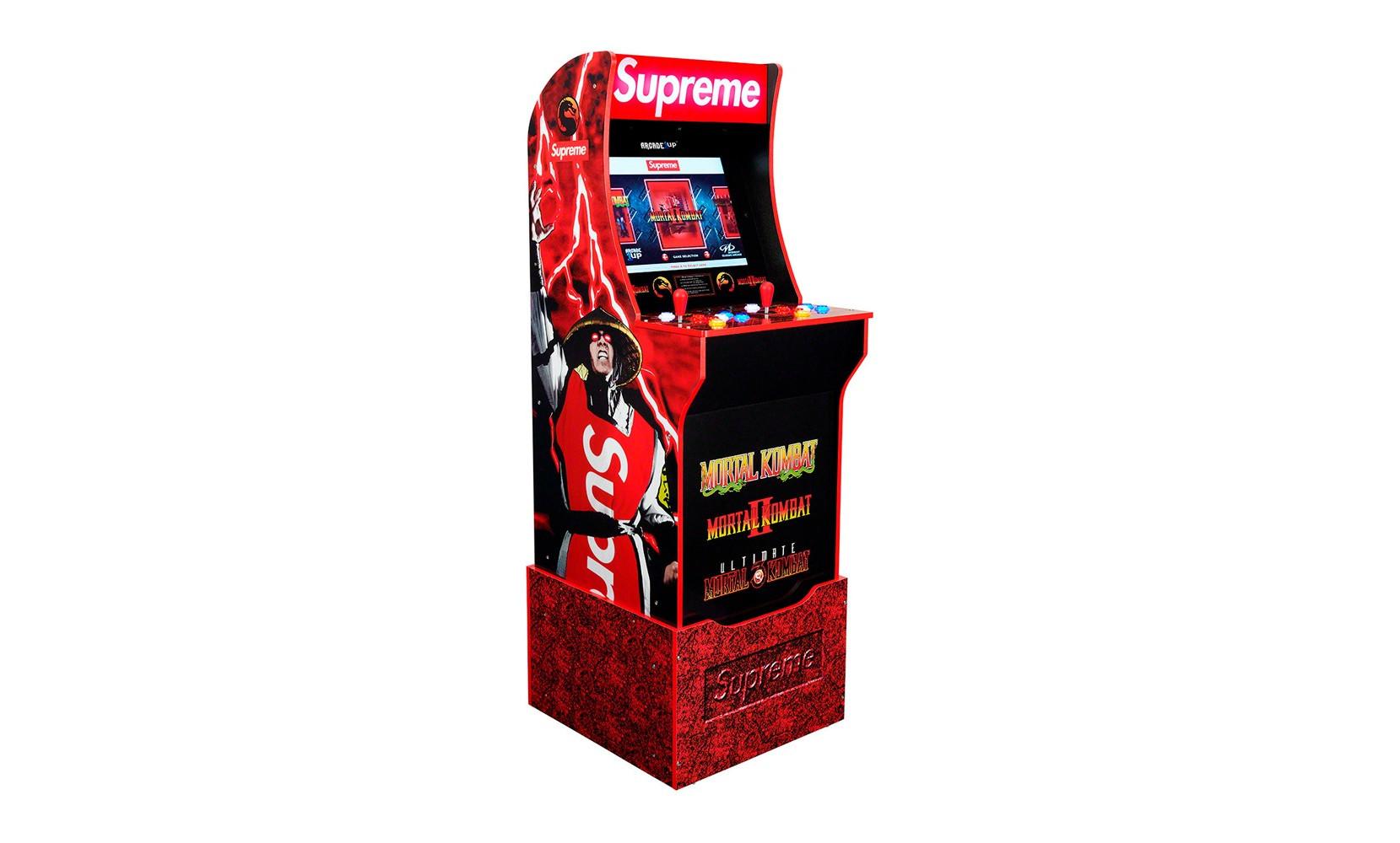 Supreme Mortal Kombat Arcade Cabinet