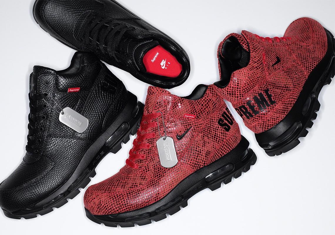 Supreme x Nike Air Max Goadome Boots