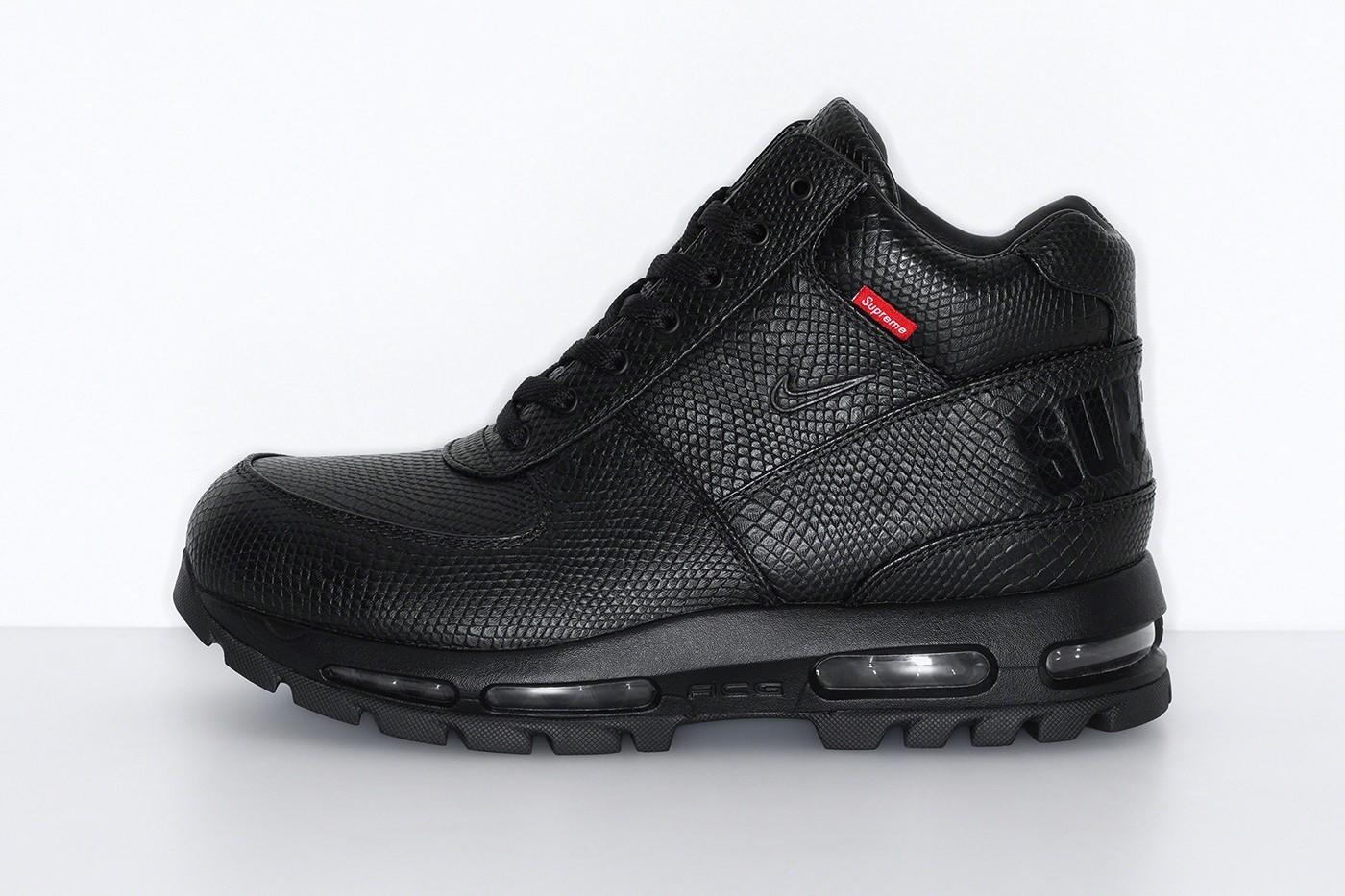 Supreme x Nike Air Max Goadome Boots black
