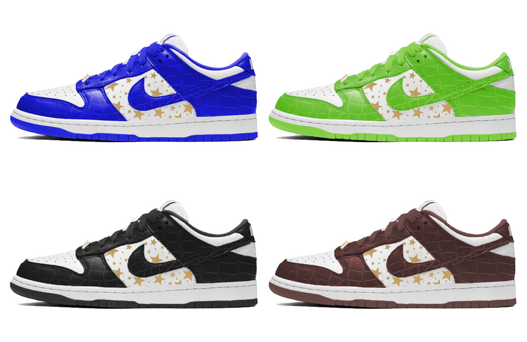Supreme x Nike SB Dunk Low 2020